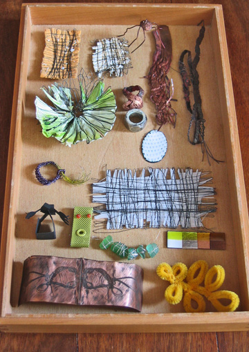 collection fascinating things, allday things, toys, drawings, becoming jewellery, for me important things which i call jewellery