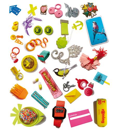 Denise Julia Reytan, Denise Reytan, Reytan jewelry, Berlin, Jewellery, assemblage, collage with jewellery, jewelry design, collage with fascinating objects, björn wolf