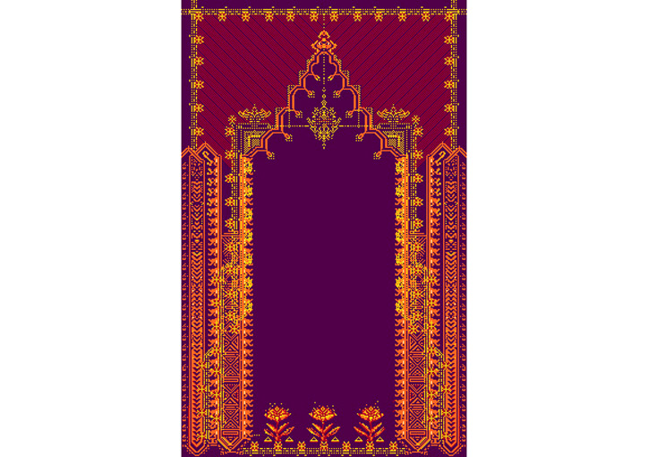 Denise Julia Reytan, Denise Reytan, Reytan, Berlin, Jewellery, Gebetsteppich, moderne Gebetsteppiche, modernes teppichdesign, carpet design,