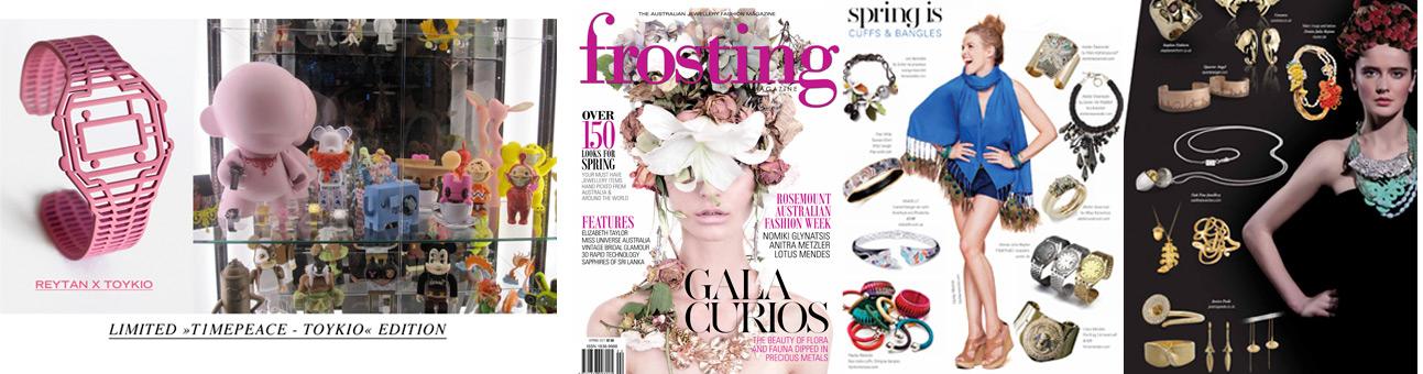 T1MEPEACE- Toykio Edition / Frosting Magazine (AUS) , Denise J. Reytan, Reytan Jewellery
