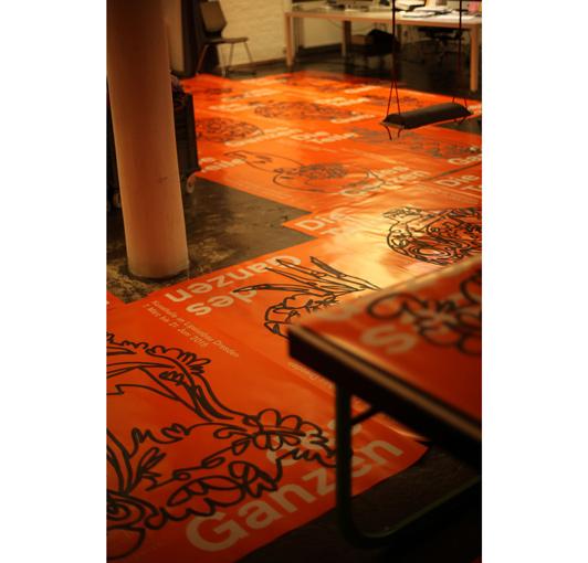 Denise J. Reytan, Illustration, Citylight Plakate, Kunstgewerbemuseum Dresden, one liner, handcrafted posters, reytan, Denise Reytan, M23, Teile des Ganzen,