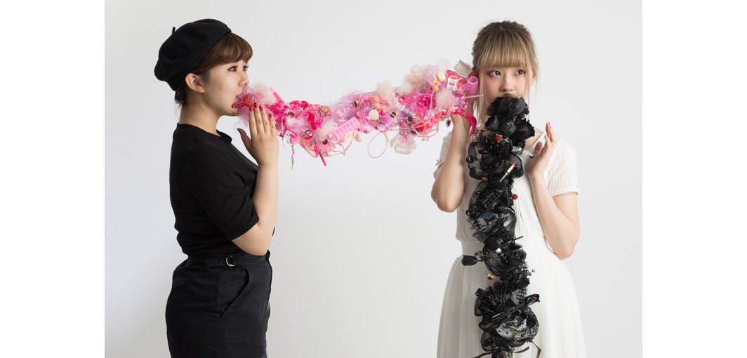 Secret by the Pierces, Workshop, Jewellery, Jewelry, schmuck workshop, Denise Reytan, Reytan, Hiko Mizuno College, Tokyo, Japan, precious plastic, staging, performance